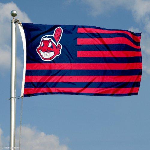Amazon.com : Cleveland Indians Nation Flag 3x5 Banner : Sports ...