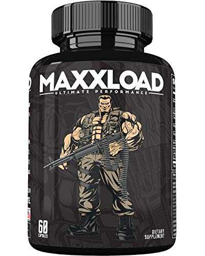 MAXXLOAD Ultimate Male Pills - Enlargement Booster for Men - Increase Energy