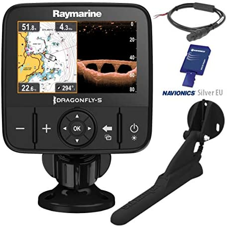 Raymarine Dragonfly 5 PRO GPS Sonda 5 Pulgadas DownVision CPT-DVS ...