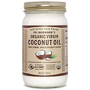 Dr. Bronners Virgin Coconut Oil, 14 oz