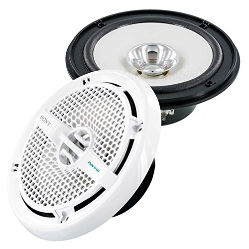 Sony XSMP1621 6 1/2-Inch coaxial 2-way Marine Speaker by Sony (Image #2)