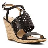 MICHAEL Michael Kors Darci Wedge Women's Sandals & Flip Flops Black Size 6.5 M