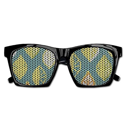 Teardrop Slice - TyYJ Lemon Slice Fashionable Visual Mesh Lens Sunglasses Resin Frame Eyewear Party Favor Gifts