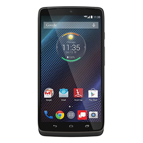 Motorola Droid Turbo - 32GB Android Smartphone - Verizon - Black (Renewed)