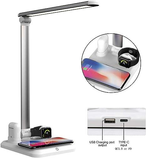 Amazon.com: LayOPO Lámpara de escritorio multifunción 4 en 1 ...
