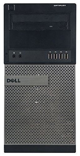 Dell 790 Business Tower Desktop Computer PC(Core i5 2400 3.1G,8G DDR3,1TB,DVD,Windows 10 Professional)(Certified Refurbished)