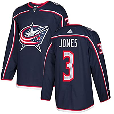 adidas Columbus Blue Jackets Men's Seth Jones #3 Authentic Jersey -Navy