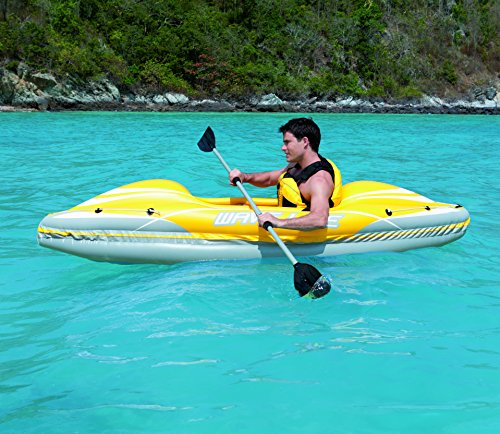 Bestway wave line inflatable kayak for Bestway vs intex