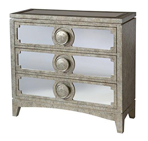 Stein World Furniture Carlton Accent Chest, Silvery