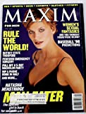Maxim Magazine April 1998 Natasha Henstridge