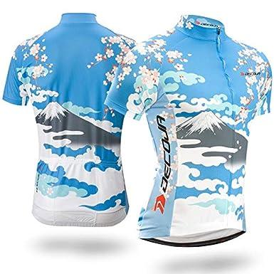 DECOJA Short Sleeve Cycling Jersey Japanese Style