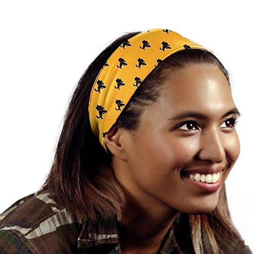 Adelphi University Panthers Wallpaper Yellow Headband