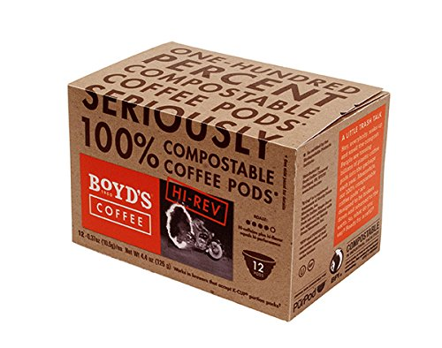Boyd's Coffee Single Cup, Hi Rev, 12 Count