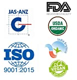 Just Jaivik 100% Organic USDA Certified Henna