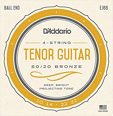 D'Addario EJ66 Tenor Guitar Strings from D'Addario &Co. Inc