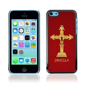 YOYOSHOP [Cool Dracula Vampire Cross] Apple iPhone 5C Case by mcsharks