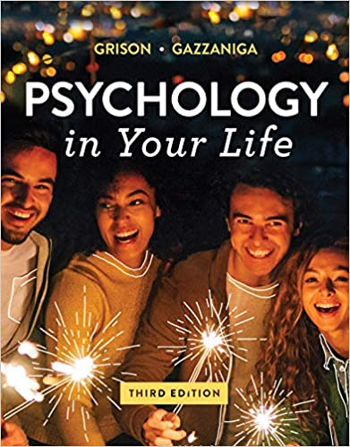 Psychology in Your Life by Grison/Gazzaniga