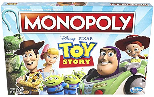 51sJ0GGMxXL - Monopoly Toy Story Board Game Family and Kids Ages 8+