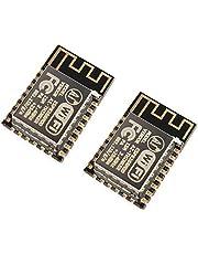 2 قطعة ESP8266 ESP-12F واي فاي المسلسل، مجلس تطوير الشبكة عن بعد جهاز استقبال لاسلكي