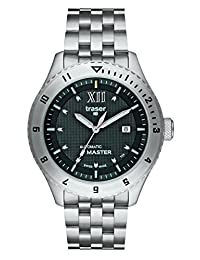 traser H3 Automatic Master Sapphire Watch | Steel Watch Band - Black