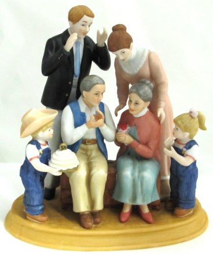 Denim Days Figurine - Home Interiors Denim Days 50th Anniversary Porcelain Figurine