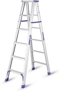 KJZ Escalera de ingeniería, Escalera plegable para exteriores Escalera portátil multifuncional Escalera de la sala de estar Escalera de metal (Tamaño : 38 * 107 * 170CM): Amazon.es: Bricolaje y herramientas