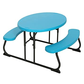 Generic n Muebles Set Oval Asiento Amping Jardín Fu Plegable Mesa de ...