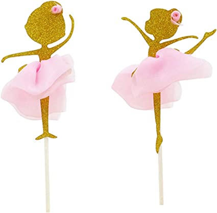 Party Paper Ballerina Dance Girl Flag Wedding Home Decoration Handmade Props