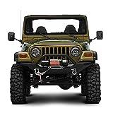 Door Off Mirror for Jeep Wrangler One Pair