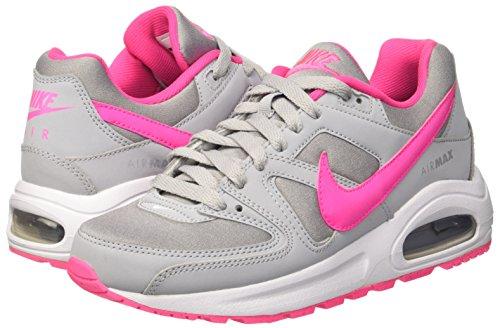 wolf Pour Course Max Command Gris Grey Blast Pink white Chaussures Air De Femme Nike gs Flex 0PWR8p4