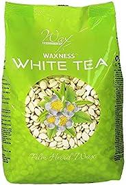 Waxness Hard Wax Beads White Tea Cream 1.1 Pound