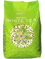 Waxness Hard Wax Beads White Tea Cream 1.1 Pound
