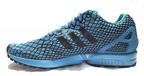 Chaussures Adidas Zx Flux Techfit Hommes Coreblack / Blancsea / Noiess / Merbla / Noiess