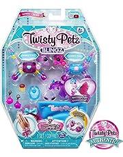 Twisty Petz, Series 3 Blingz, Pony & Zebra Customizable Bracelet Set for Kids Aged 4 & Up
