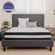 Flash Furniture Capri Comfortable Sleep 12 Inch Foam and Pocket Spring Mattress, King Mattress in a Box