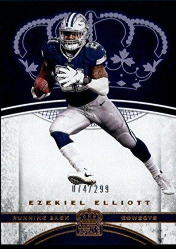 2017 Crown Royale Bronze #62 Ezekiel Elliott 074/299 Dallas Cowboys Football ()