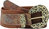 "Leatherock Womens Barrie Belt Tobacco XL (38"" Waist)"