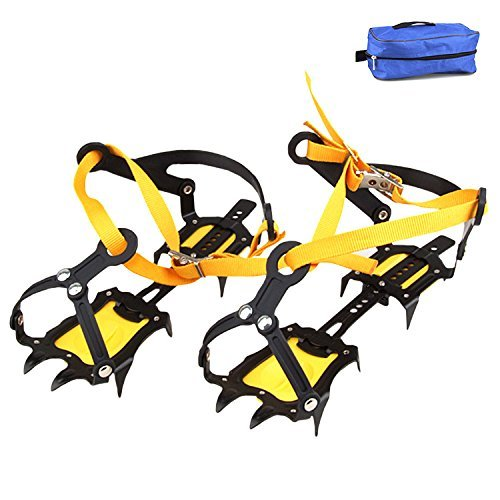 Bettli Strap Type Crampons Ski Belt High Altitude Hiking Slip-resistant 10 Crampon