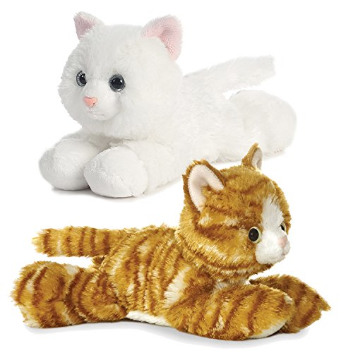 Plush Jungle Cat - Bundle of 2 Aurora Plush Cats - 8