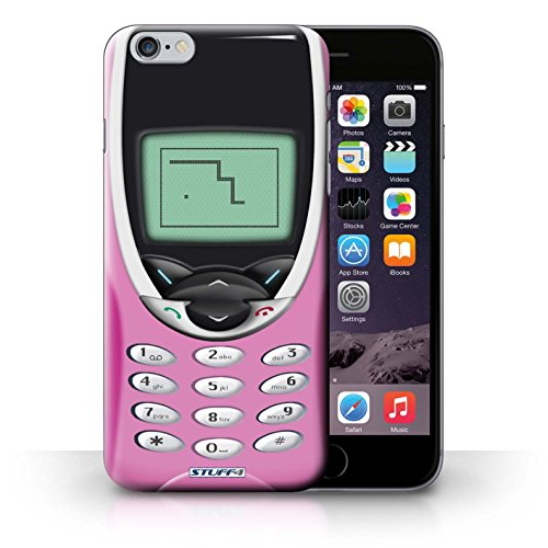 Hülle Case für iPhone 6+/Plus 5.5 / Rosa Nokia 8210 Entwurf / Vintage Handys Collection