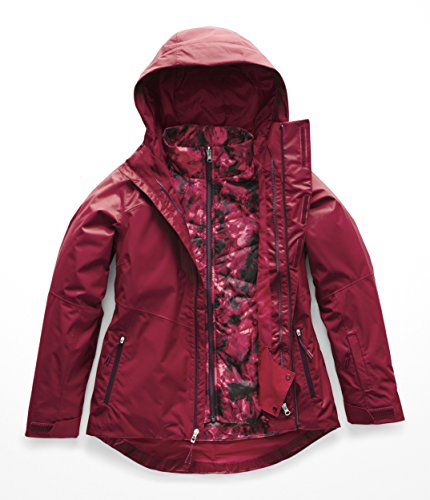 The North Face Women's Clementine Triclimate Jacket - Rumba Red - XS