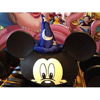 Disney Parks Mickey Mouse Sorcerer Ears Hat - Disney Parks Exclusive & Limited Availability