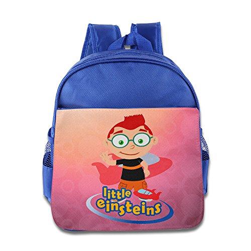 Little Einsteins Plane Custom Boy Girl Kid School Backpack Soft