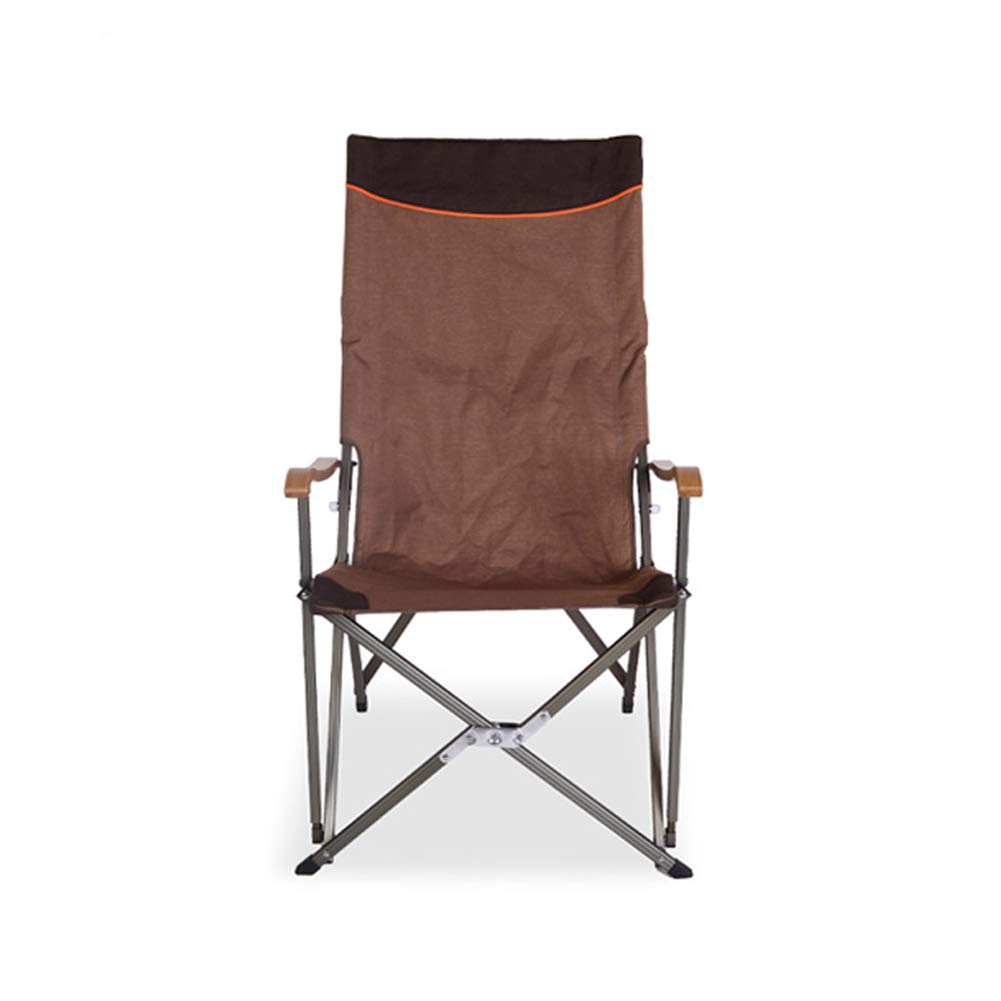 Outdoor Folding Lounge Chair Beach Chair Camping Fishing Leisure Comfortable Folding Chair