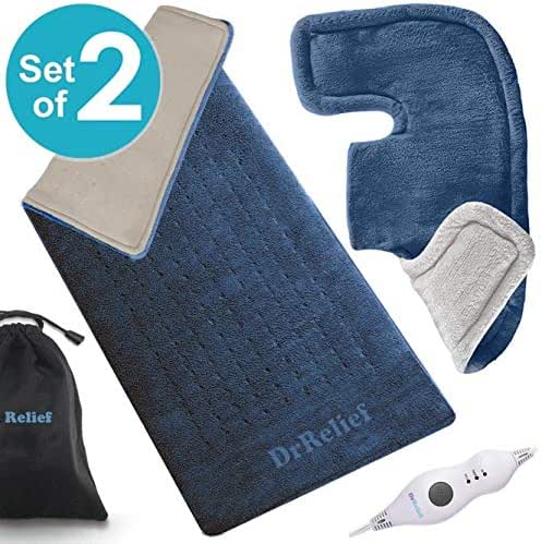 Heating Pad Gift Set of 2 - King Size 18