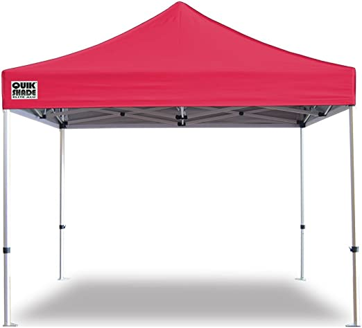 GAZEBO PLEGABLE QUIK SHADE 3 X 3 MT-MOD. ELITE ALU COLOR ROJO ...
