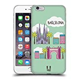 Head Case Designs Barcelona Doodle Cities 4 Soft Gel Case for Apple iPhone 5 / 5s / SE