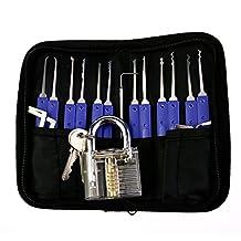 Protable Lock Set For Beginner Training Pick Skill