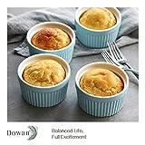 DOWAN 8 oz Ramekins - Ramekins for Creme Brulee