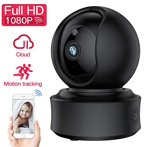 WiFi IP Security Camera, AMESY Wireless Auto Cruise YI Cloud Camera, 2.4G WiFi Home Baby Pet Monitoring